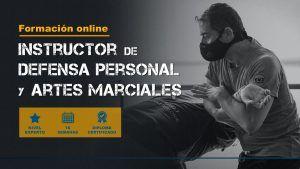 curso online instructor defensa personal. y artes marciales